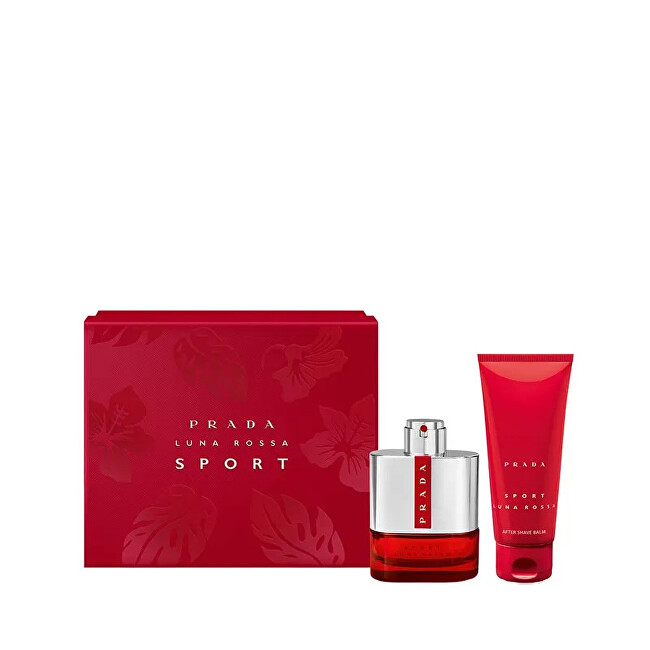 Prada Luna Rossa Sport - EDT 100 ml + balzám po holení 100 ml