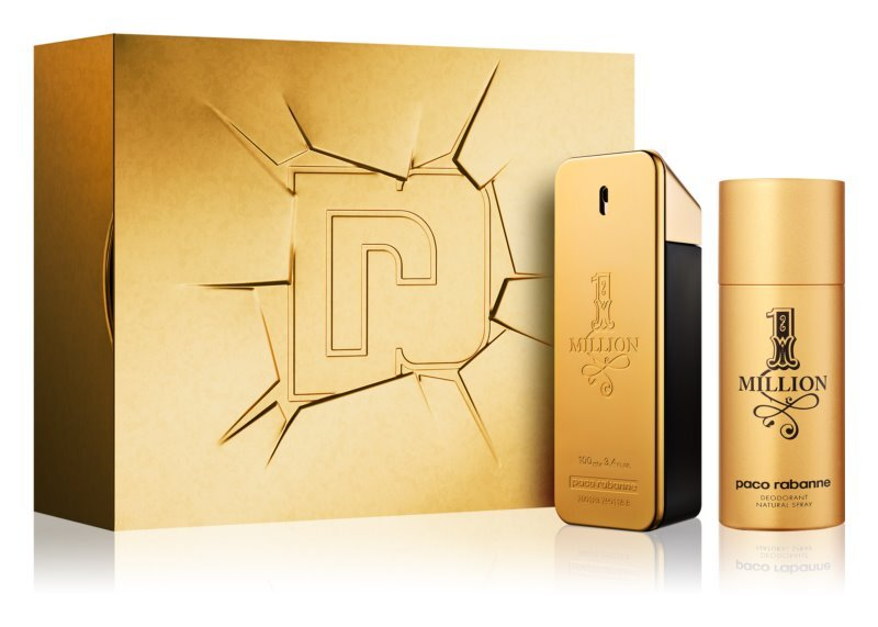 Paco Rabanne 1 Million - EDT 100 ml + dezodorant v spreji 150 ml