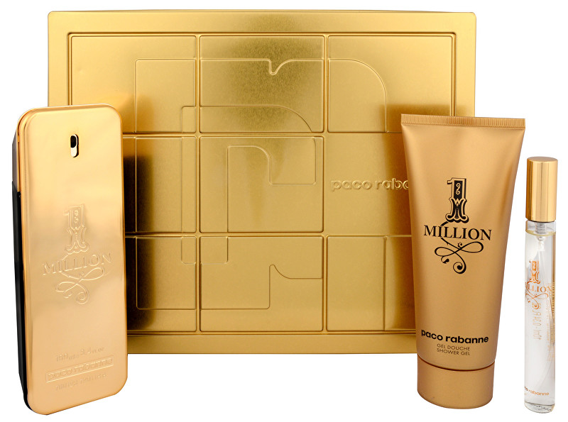 Paco Rabanne 1 Million - EDT 100 ml + EDT 10 ml + sprchový gel 100 ml