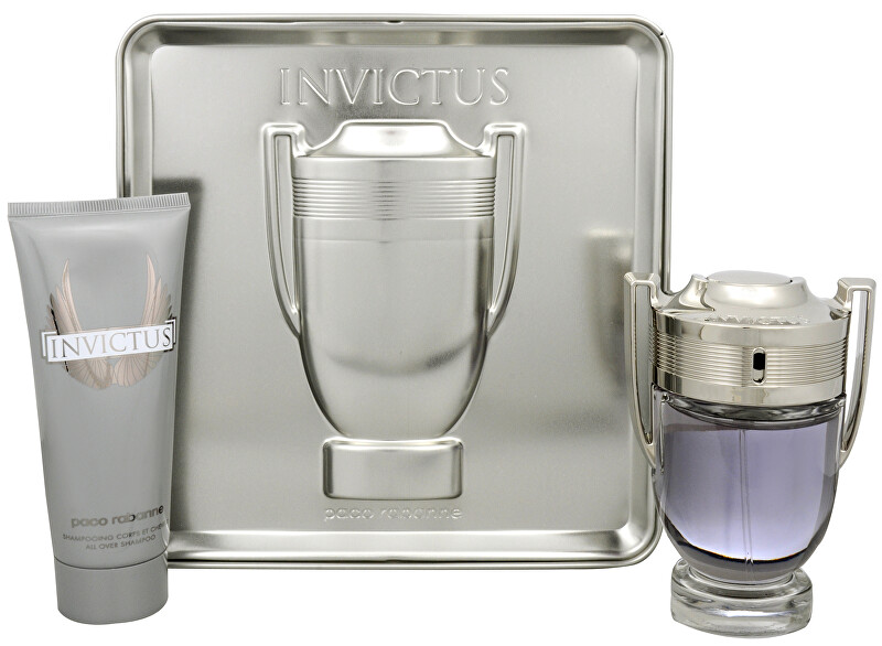 Paco Rabanne Invictus - EDT 100 ml + sprchový gél 100 ml