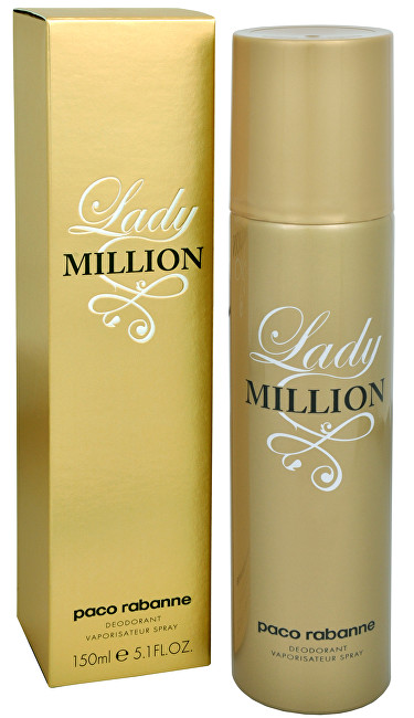 Paco Rabanne Lady Million deospray 150 ml