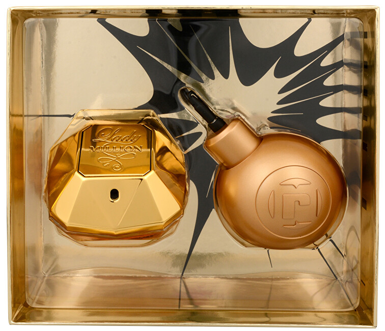 Paco Rabanne Lady Million - EDP 50 ml + MP3 reproduktor