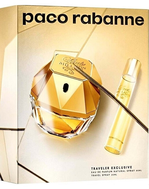 Paco Rabanne Lady Million - EDP 80 ml + EDP 20 ml