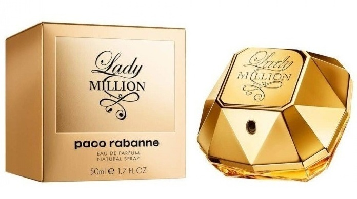 Paco Rabanne Lady Million - EDP 1 ml - odstřik