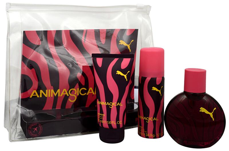 Puma Animagical Woman EDT 40 ml + sprchový gél 50 ml + deodorant 50 ml