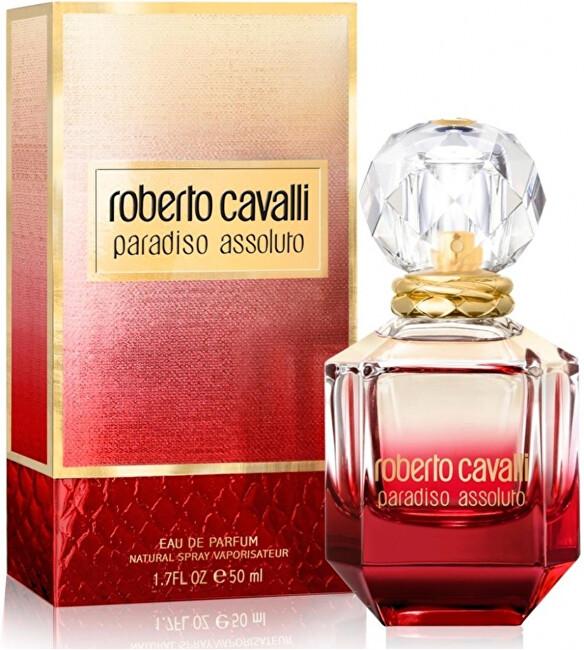 Roberto Cavalli Paradiso Assoluto - EDP - SLEVA - bez celofánu, chybí cca 1 ml 75 ml