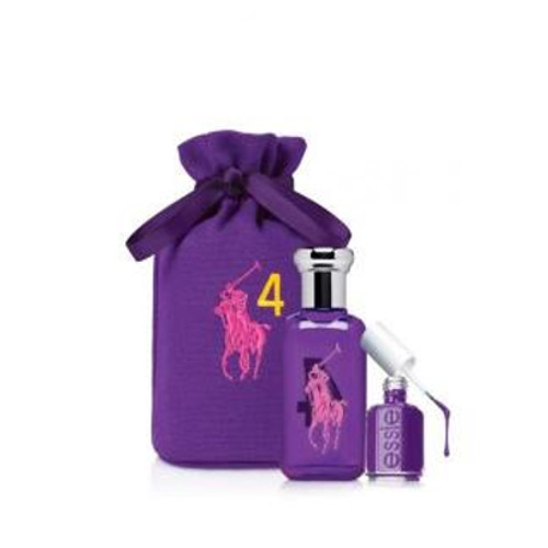 Ralph Lauren Big Pony 4 For Women - EDT 50 ml + lak na nehty + sáček