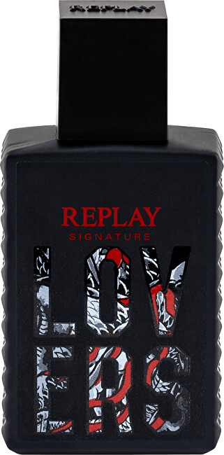 Replay Signature Lovers Man - EDT 30 ml