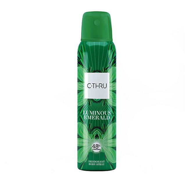 C-THRU Luminous Emerald - deodorant ve spreji 150 ml