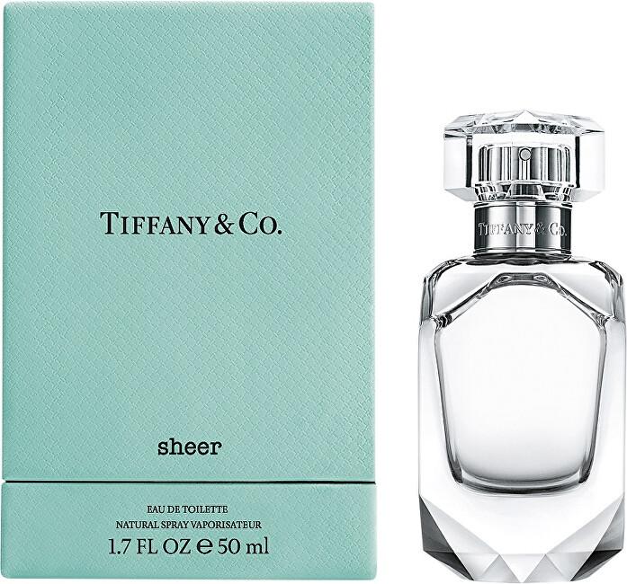 Tiffany & Co. Tiffany & Co. Sheer - EDT - SLEVA - bez celofánu, chybí cca. 2 ml, poškozená krabička 75 ml