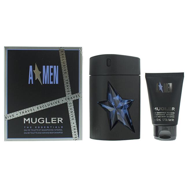 Thierry Mugler A*Men - EDT 100 ml (plnitelná) + sprchový gel 50 ml