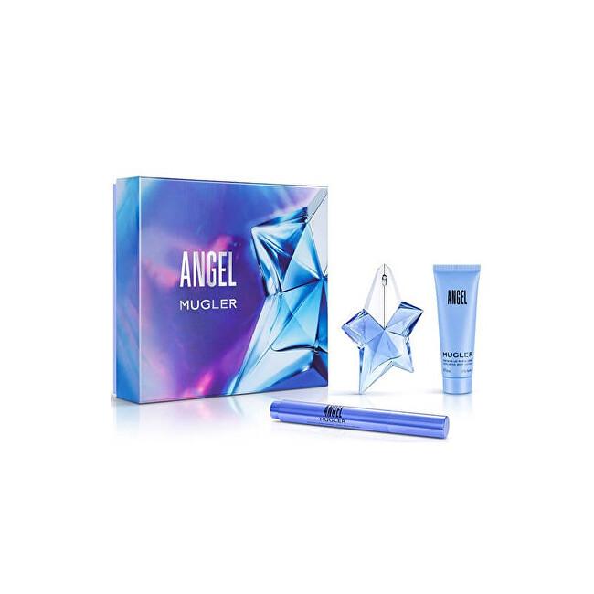 Thierry Mugler Angel - EDP 50 ml + tělové mléko 100 ml + parfémovaný kartáček 7 ml