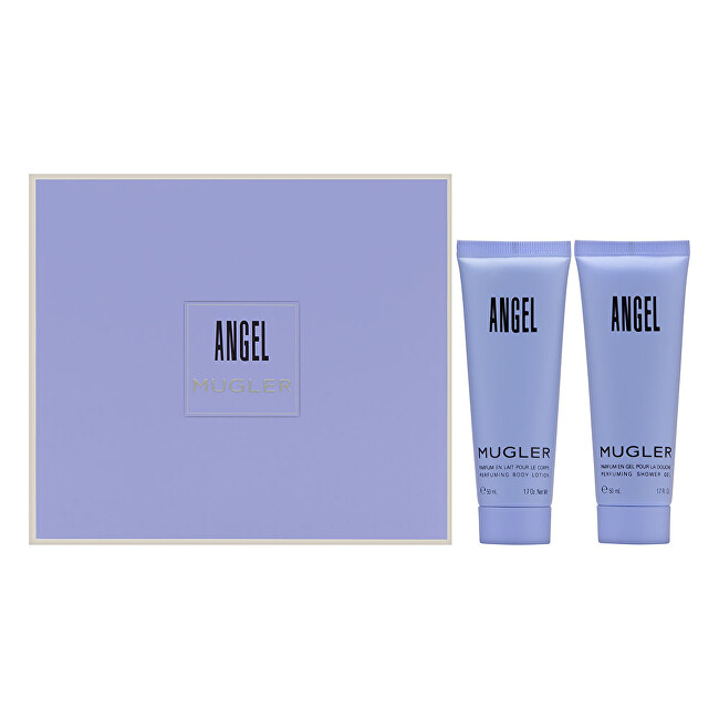 Thierry Mugler Angel - tělové mléko 50 ml + sprchový gel 50 ml