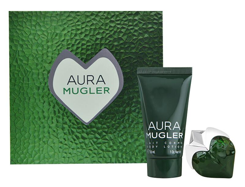Thierry Mugler Aura Mugler - EDP 5 ml + telové mlieko 30 ml