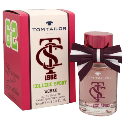 Tom Tailor College Sport Woman - EDT 30 ml