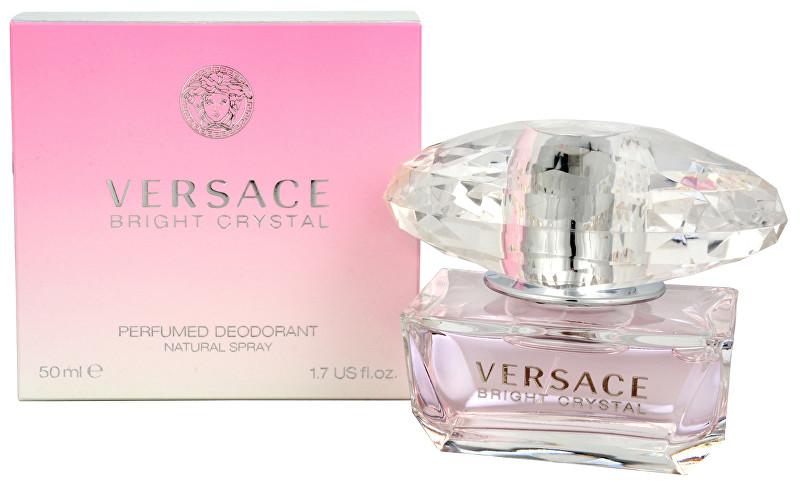 Versace Bright Crystal - deodorant s rozprašovačom 50 ml