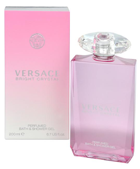 Versace Bright Crystal - sprchový gél 200 ml