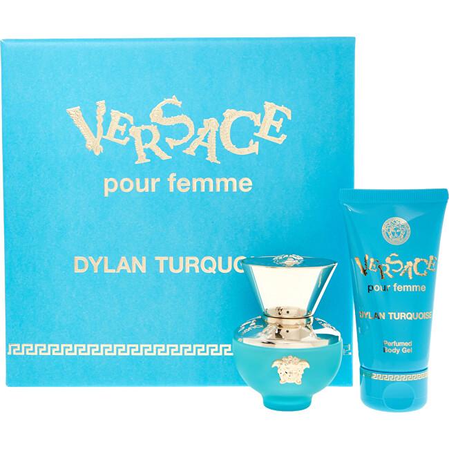 Versace Dylan Turquoise - EDT 30 ml + tělově mléko 50 ml