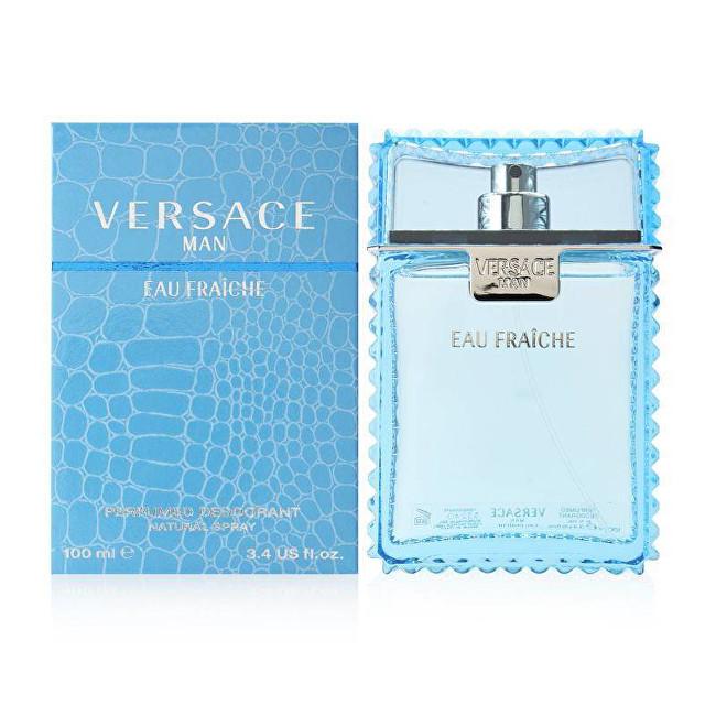 Versace Eau Fraiche Man - dezodorant s rozprašovačom 100 ml