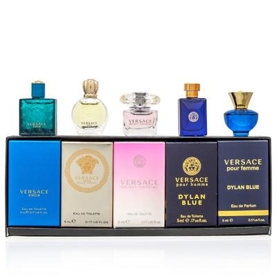 Versace Kolekce Miniatur Versace - EDT 4 x 5 ml + EDP 1 x 5 ml