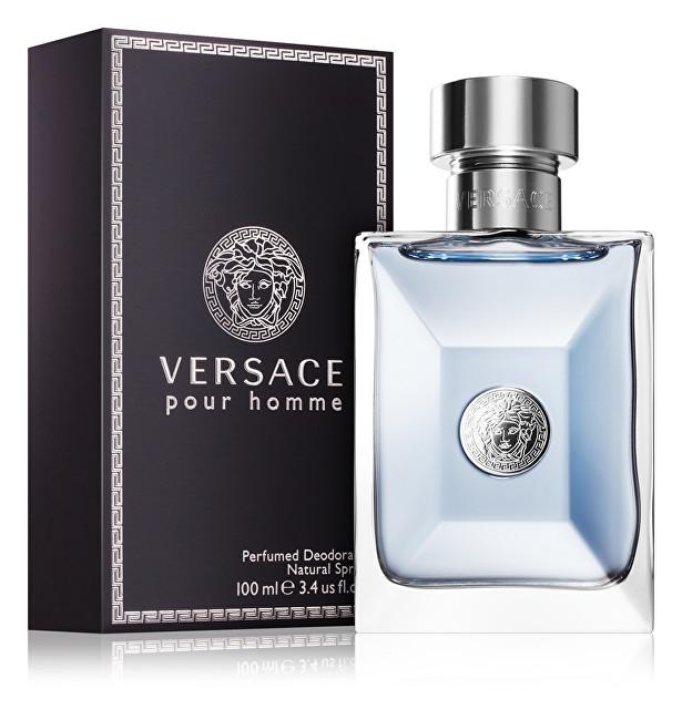 Versace Pour Homme - dezodorant s rozprašovačom 100 ml
