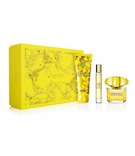 Versace Yellow Diamond - EDT 90 ml + telové mlieko 150 ml + EDT 10 ml