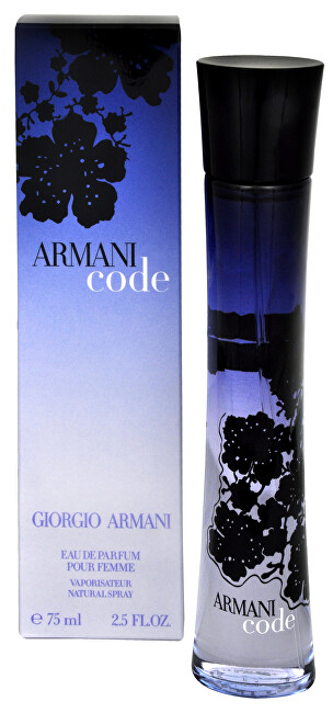 Armani Code For Women - EDP - SLEVA - bez celofánu 75 ml