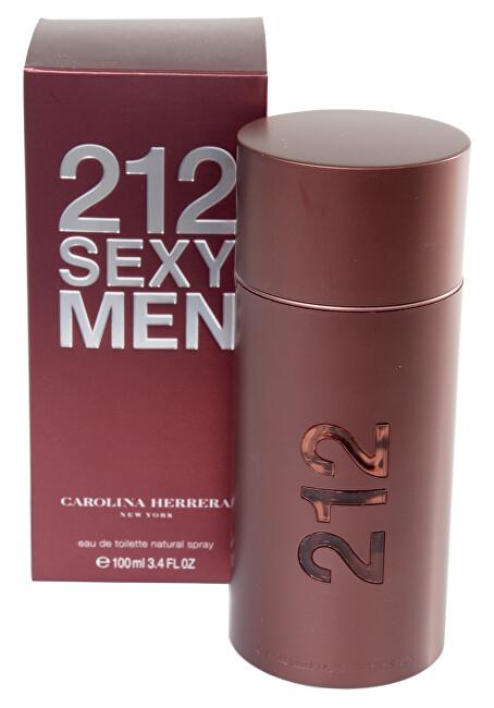 Carolina Herrera 212 Sexy For Men - EDT - SLEVA - bez celofánu 50 ml