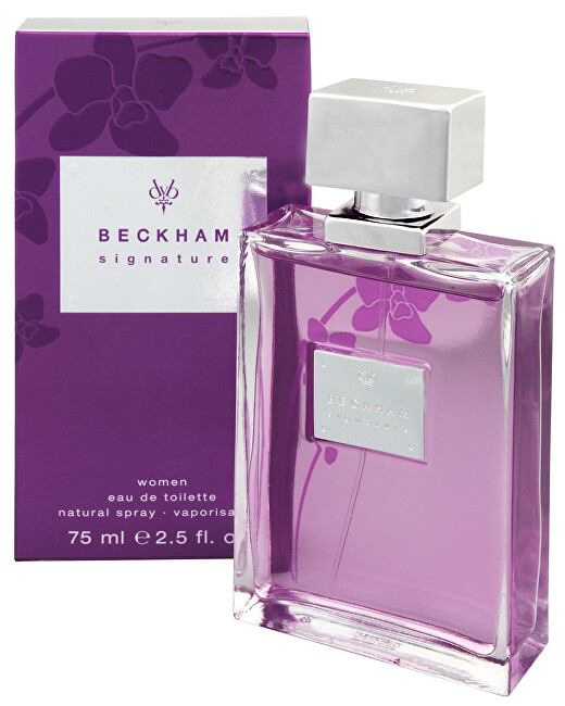 David Beckham Signature For Women - EDT - SLEVA - bez celofánu, chybí cca 2 ml