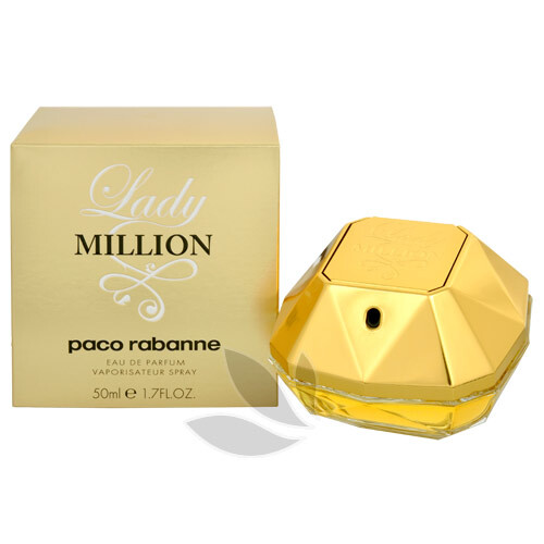 Paco Rabanne Lady Million - EDP - SLEVA - bez celofánu 80 ml