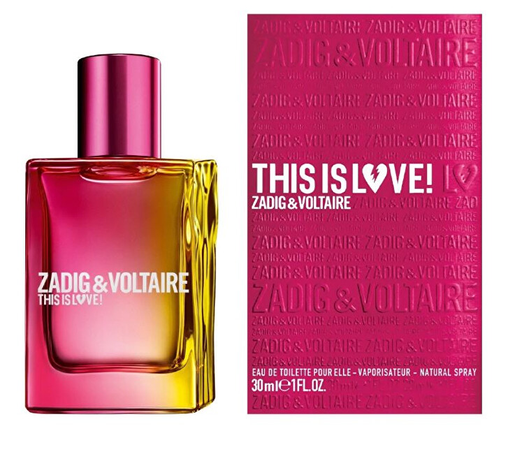 Zadig & Voltaire This is Love! For Her - EDP 30 ml