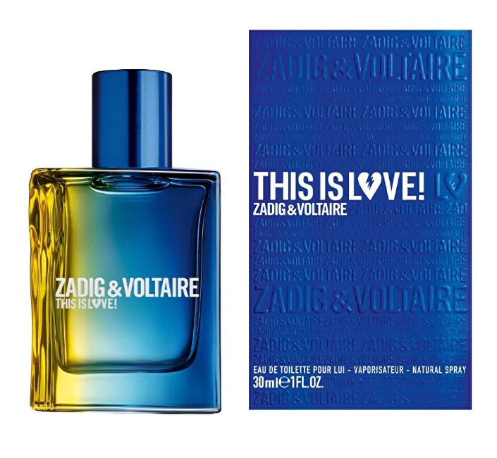 Zadig & Voltaire This is Love! for him - EDT 50 ml