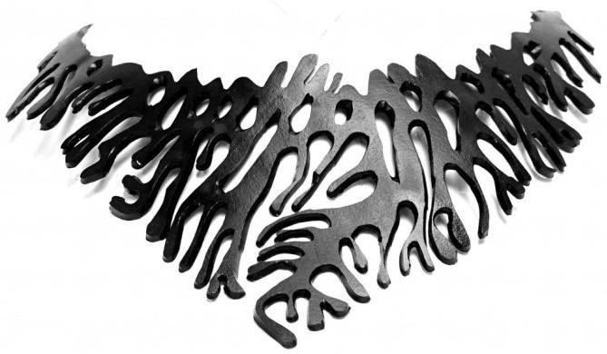 ARTcycleBALI Extravagantné náhrdelník Koral NE_006