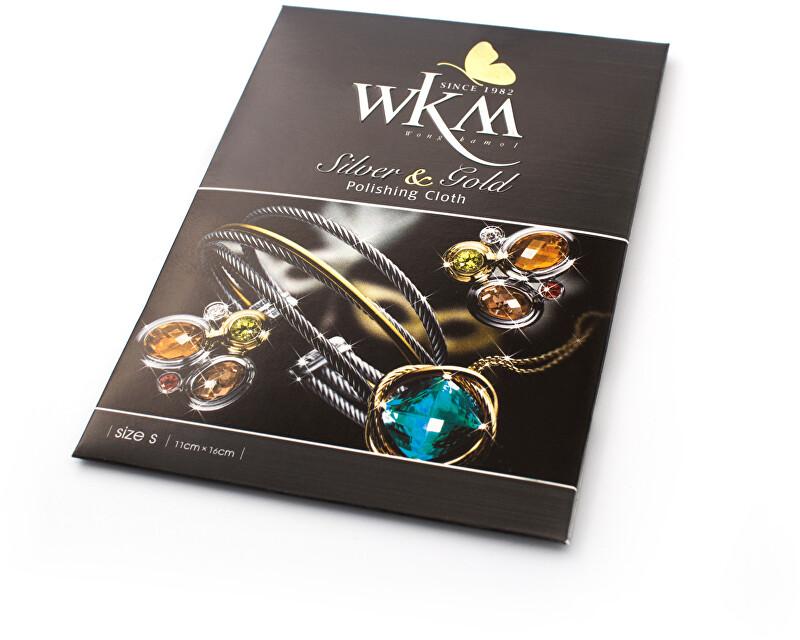 Beneto Čisticí hadřík na stříbrné a zlaté šperky WKM POL S - 1 ks