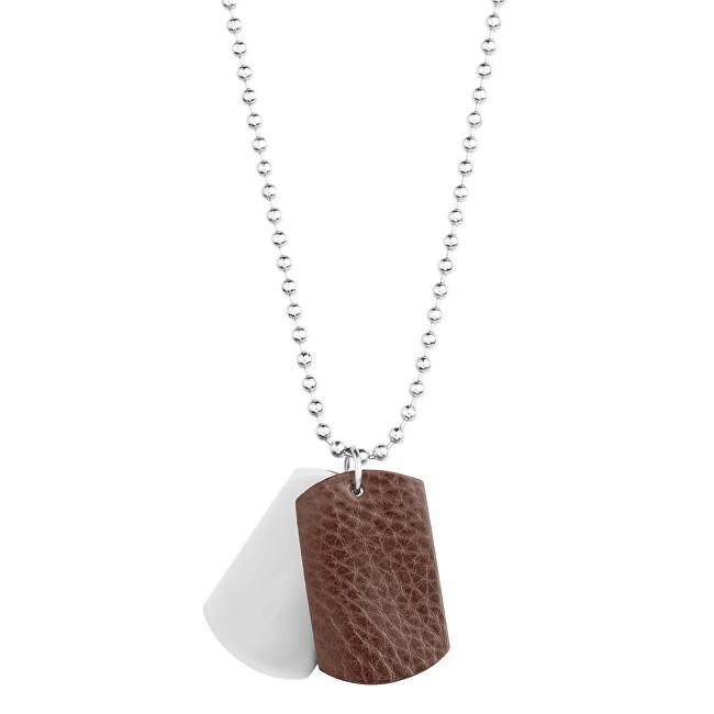 Beneto Moderný pánsky oceľový náhrdelník SR623