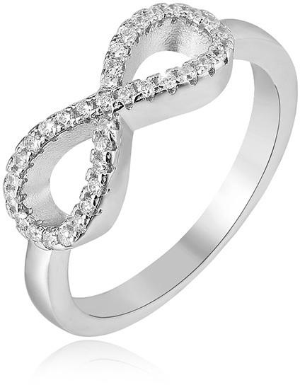 Beneto Stříbrný prsten Nekonečno AGG208 54 mm
