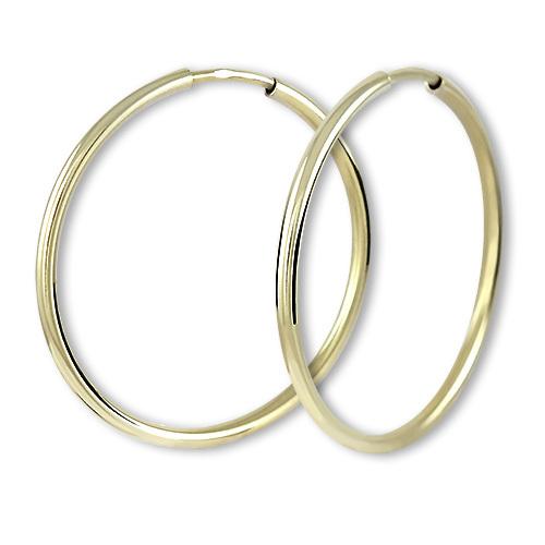 Brilio Náušnice zlaté kruhy 745 231 001 00485 0000000