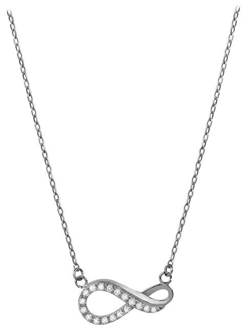 Brilio Zlatý náhrdelník Nekonečno s kryštálmi 279 001 00087 07