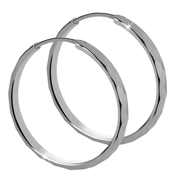 Brilio Silver Strieborné náušnice kruhy 431 158 00035 04
