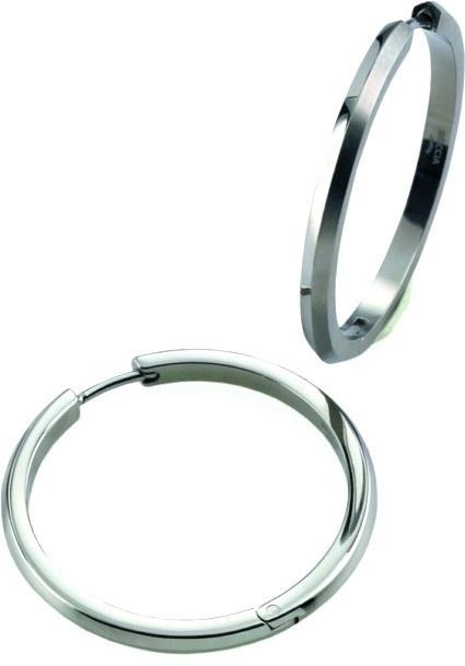 Boccia Titanium Titanové kruhy 0571-01