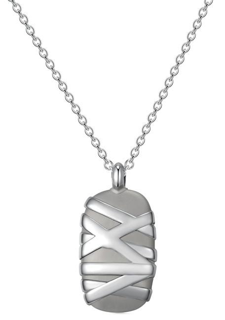 Brosway Pánsky oceľový náhrdelník StoneAge BOG03
