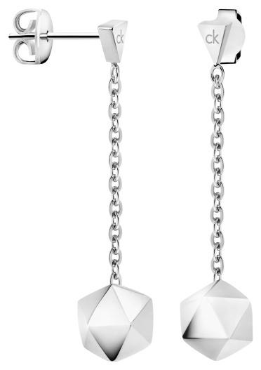 Calvin Klein Oceľové náušnice pre ženy Side KJ5QME000200