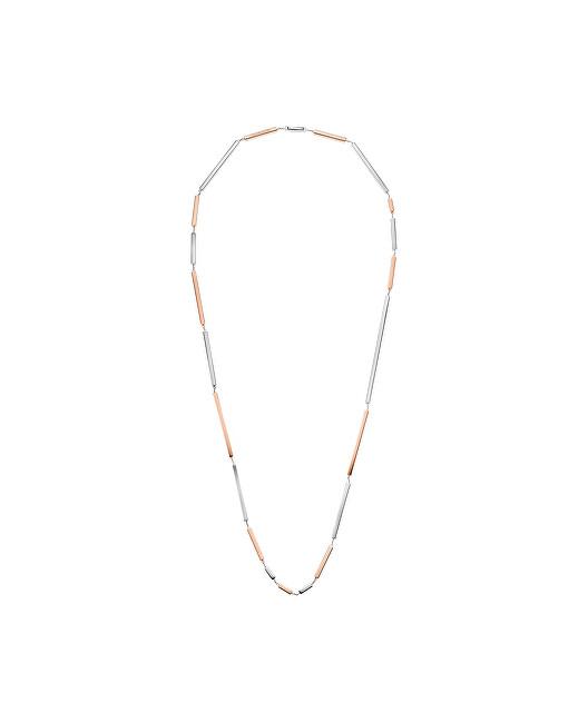 Calvin Klein Oceľový bicolor náhrdelník Tinkle KJCTMN200100