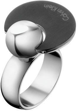 Levně Calvin Klein Ocelový prsten Opposite KJ3ZBR2801 55 mm