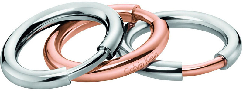 Calvin Klein Sada troch prsteňov disclose KJ5FMR2001 57 mm