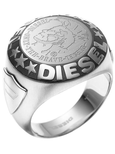 Diesel Moderné pánsky prsteň DX0182040 60 mm