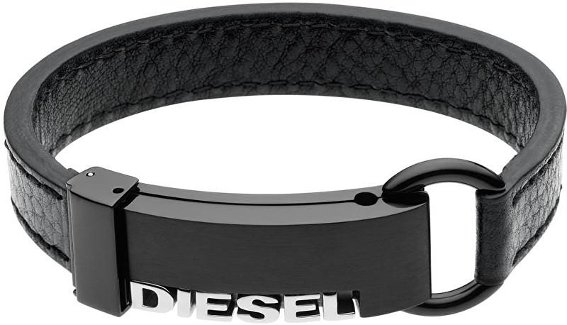 Diesel Pánský kožený náramek DX0002040