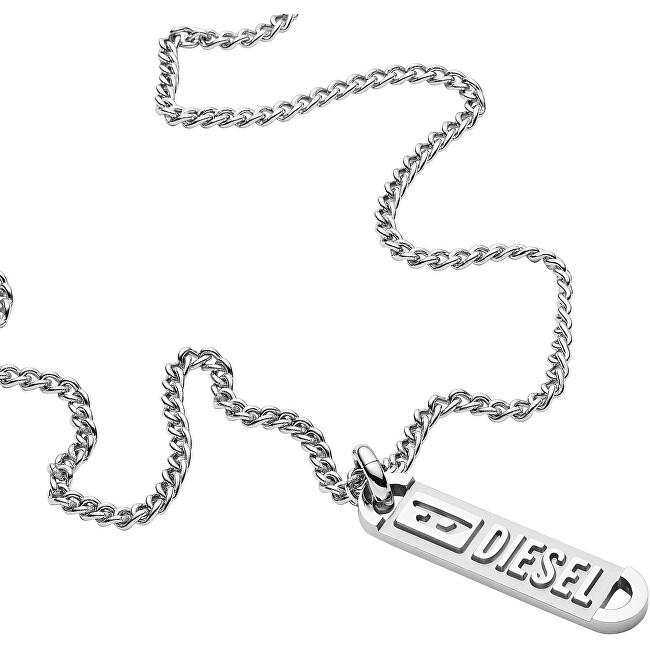 Diesel Pánsky oceľový náhrdelník DX1228040