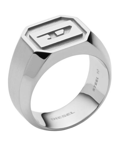 Diesel Pánsky oceľový prsteň DX1261040 62 mm