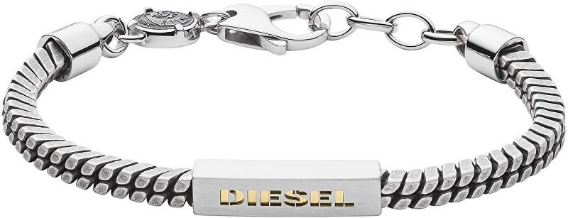 Diesel Štýlový pánsky oceľový náramok DX1238040